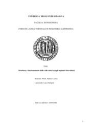 Struttura e funzionamento delle celle solari e degli impianti fotovoltaici