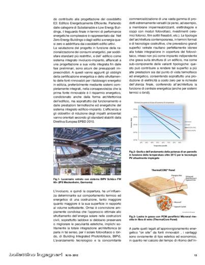 Studio delle prestazioni termofisiche di una copertura con applicazione di