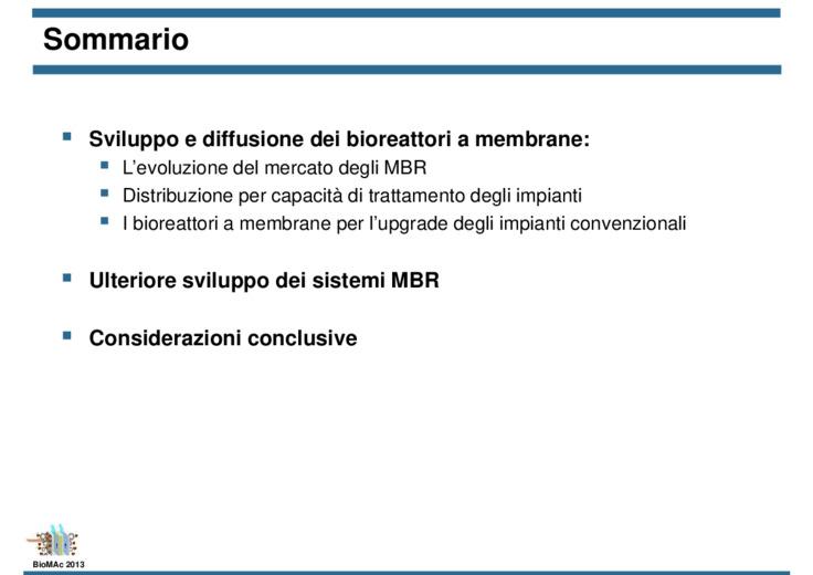 Sviluppo e diffusione dei sistemi MBR