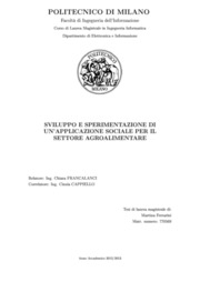 Agricoltura, Agroalimentare, Elettronica