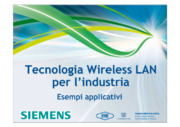 Automazione industriale, Bus di campo, Profinet, Wireless