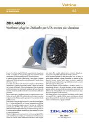 Ventilatori plug fan ZAbluefin per UTA ancora più silenziose